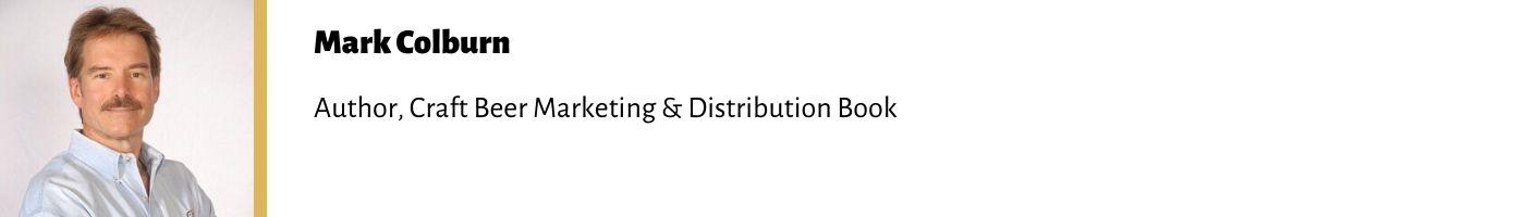 Mark Colburn Author, Craft Beer Marketing & Distribution Book