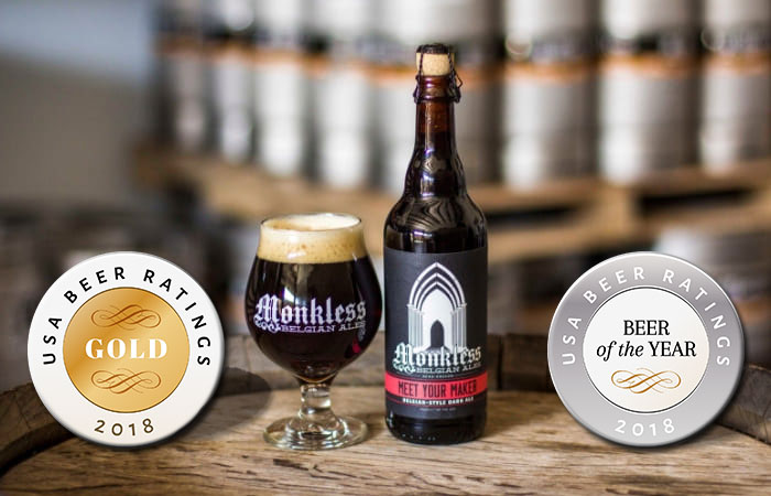 Meet your maker beer with medals