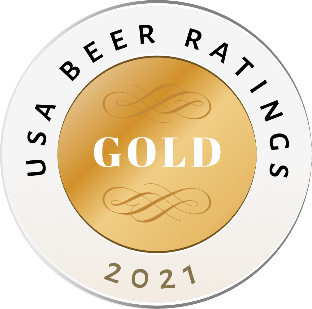 USA Beer Ratings Gold Medal