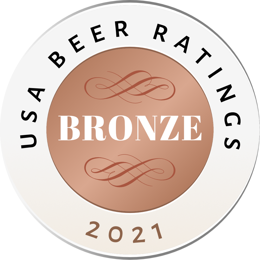 USA Beer Ratings Bronze Medal