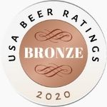 USA Beer Ratings Bronze Medal